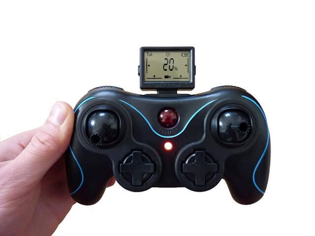 Fernsteuerung der S-Idee Drohne