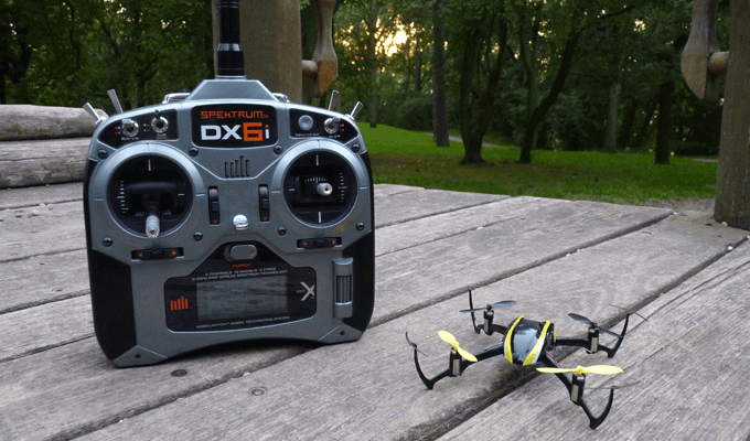 Blade Nano QX im Test als BNF Version