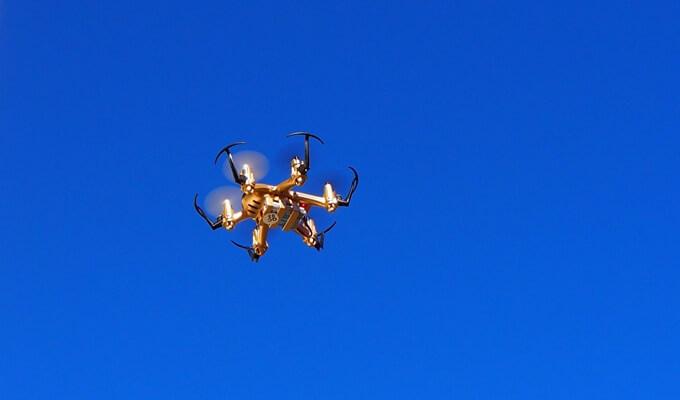 JJRC H20 im Flug: Hexacopter für 20 Euro