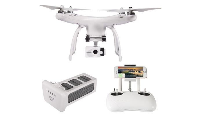 UPair One Drohne: Günstiger 4K Quadrocopter