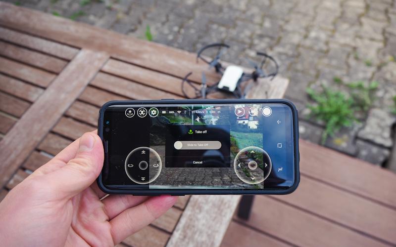 Günstige FPV-Drohne wie Ryze Tello per Smartphone starten