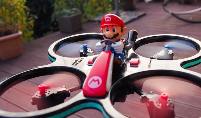 Witzige Drohne im Test: Nicht nur für Nintendo-Nostalgiker