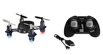 Lieferumfang der Revell Nano Quad Drohne Control 23971